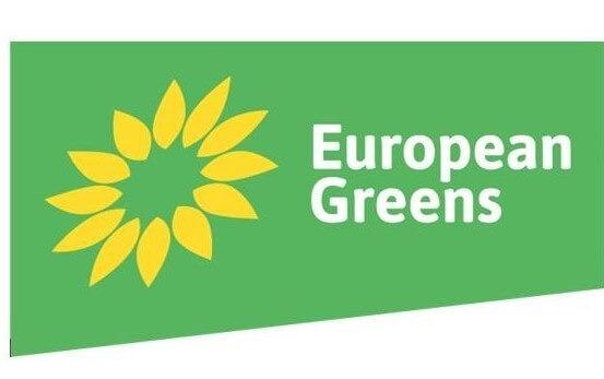 european greens flag