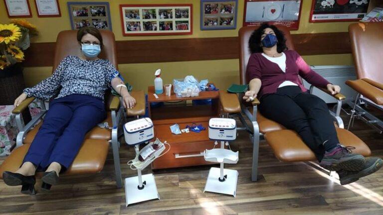 Форумот на жени на ДОМ се вклучи во крводарителска акција
