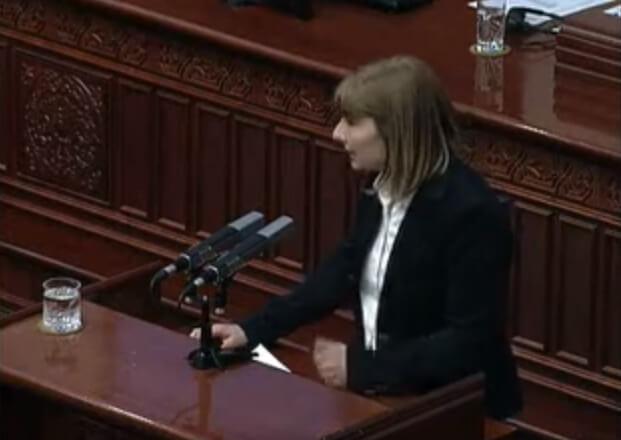 Пратенички прашања на претседателката на зелената партија ДОМ (видео)