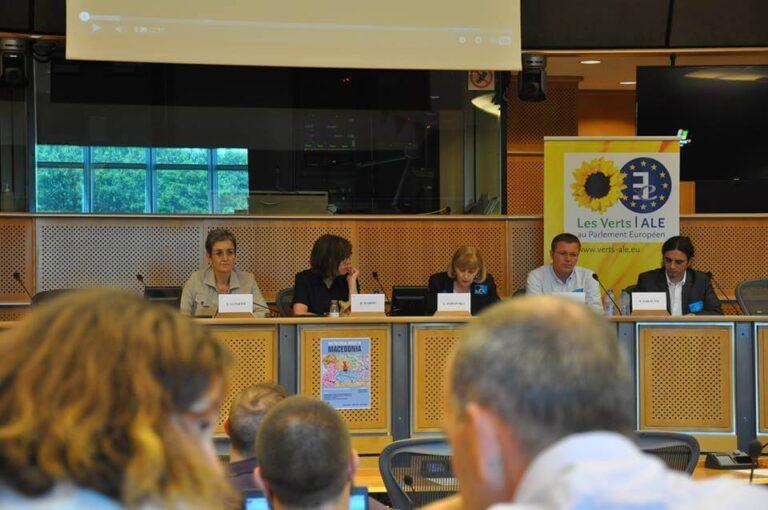 Говор на Лилјана Поповска во Европскиот парламент