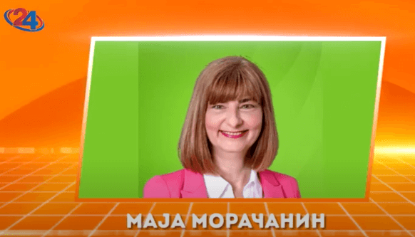 Лидерката на зелената партија ДОМ и пратеничка Маја Морачанин за зелените политики