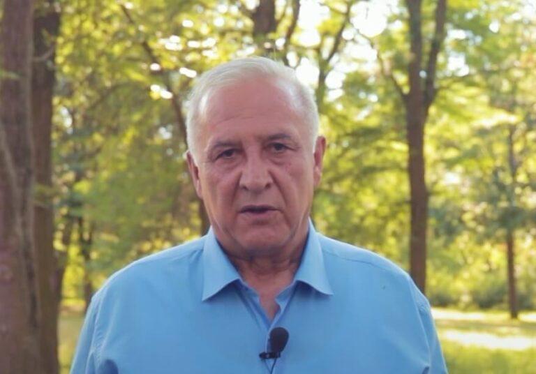 Ванчо Санев, кандидат за пратеник во изборна единица 3 и претседател на општинската организација на ДОМ во Штип