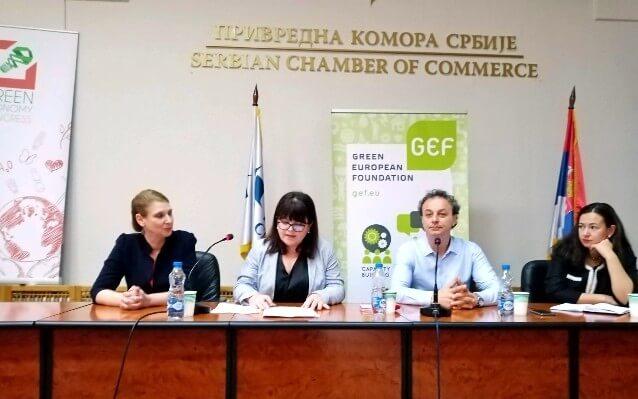ana petrovska belgrad kongres zelena ekonomija