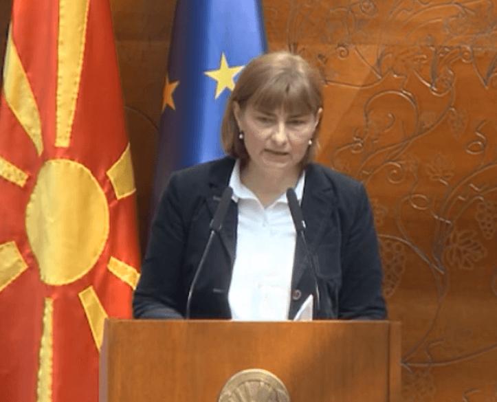 """Маја Морачанин, пратеничка и лидерка на ДОМ: """"Неопходно е да се забрза транзицијата на производството на електрична енергија од јаглен, со обновливи извори на енергија"""""""