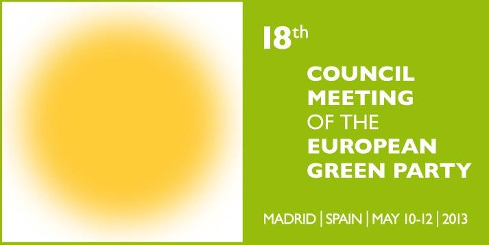 Делегација од ДОМ на Собранието на Европските Зелени, Мадрид 2013