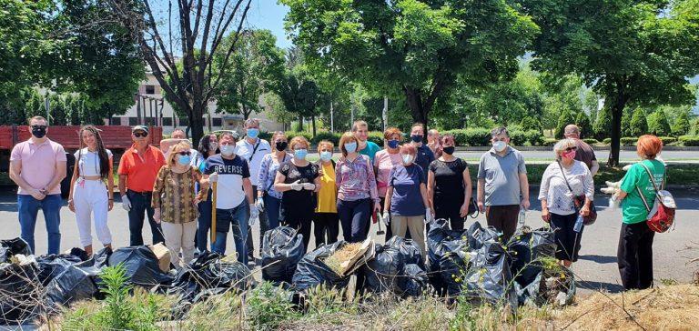 ДОМ со акција за чистење го одбележа Светскиот ден на заштита на животната средина