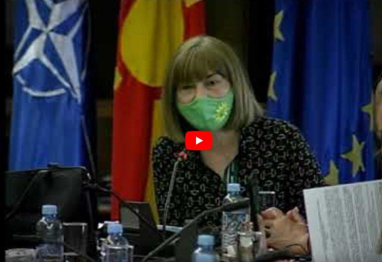 Maja Морачанин на Комисија за европски прашања