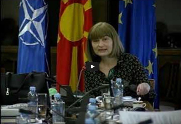 Претседателката на ДОМ, Морачанин ќе поднесе амандмани за предлог Законот за управување со отпад
