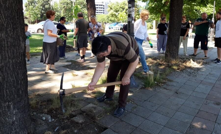 treta akcija za osloboduvanje na drvata 9