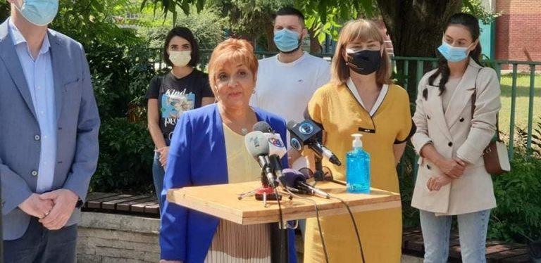 ДОМ и ЛДП ја објавија својата кандидатка за градоначалничка на Кисела Вода.