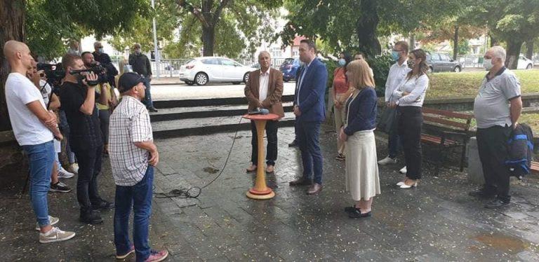 ДОМ:  ДОМ и ЛДП го објавија својот кандидат за градоначалник на Штип.
