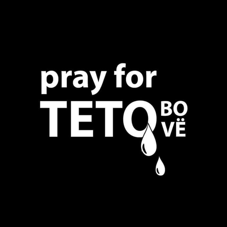 Сочувство до семејствата на жртвите во пожарот во модуларната болница во Тетово