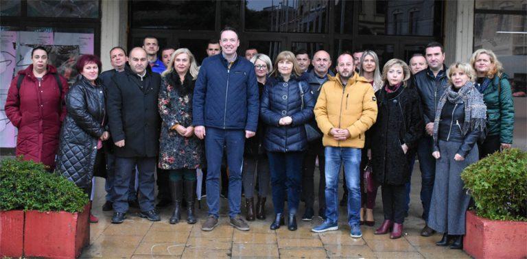 Лидерите на ЛДП и ДОМ на средби со граѓани во Битола, и по 4 години нема да се срамиме пред битолчани